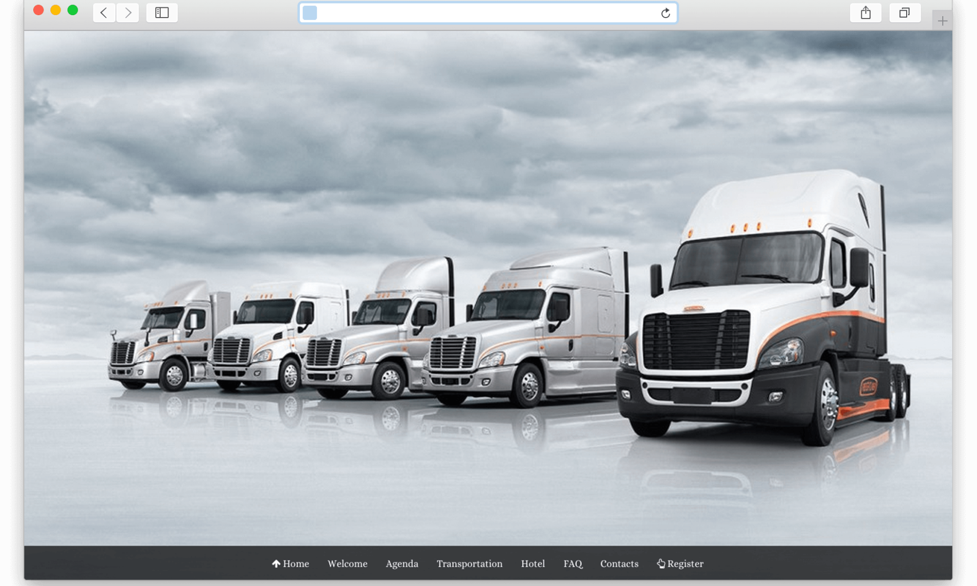 2014 Freightliner Trucks Event
