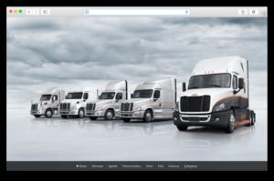 2014 Freightliner Trucks Event